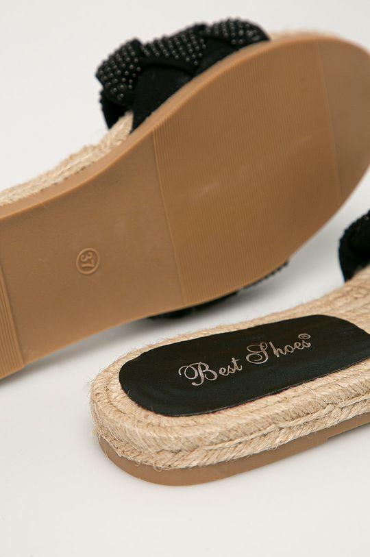 černá Answear Lab - Pantofle Best Shoes