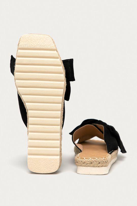 černá Answear Lab - Pantofle Buonarotti