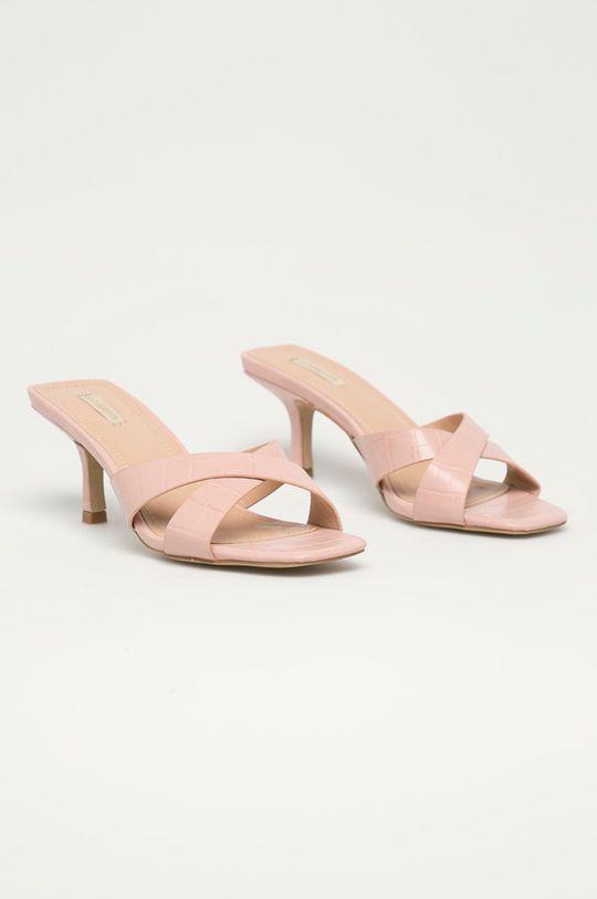 Answear Lab - Pantofle Buonarotti pastelová