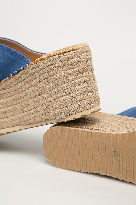 modrá Answear Lab - Pantofle Buonarotti