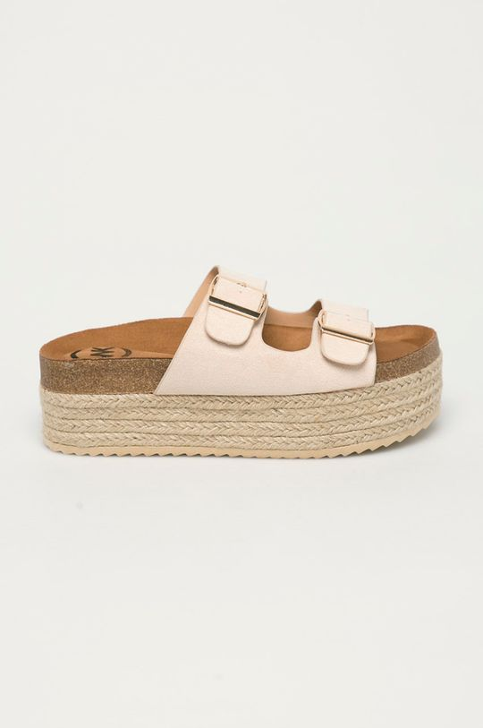 béžová Answear Lab - Pantofle Woman Key Dámský