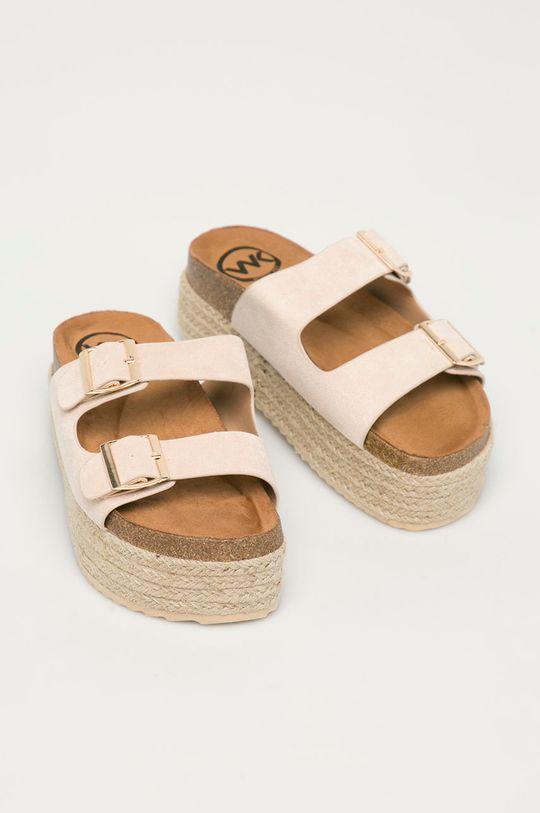 Answear Lab - Pantofle Woman Key béžová
