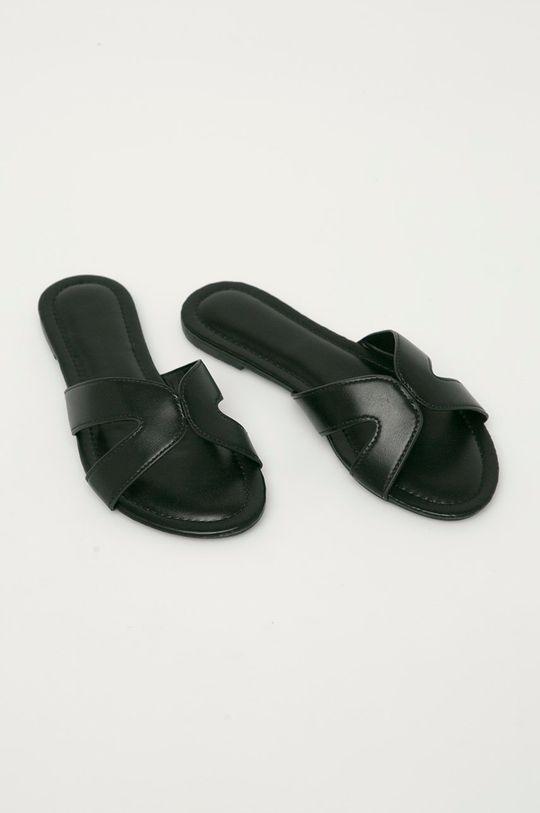 Answear Lab - Pantofle černá