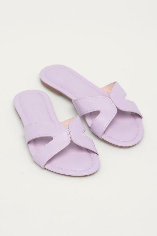 Answear Lab - Pantofle levandulová
