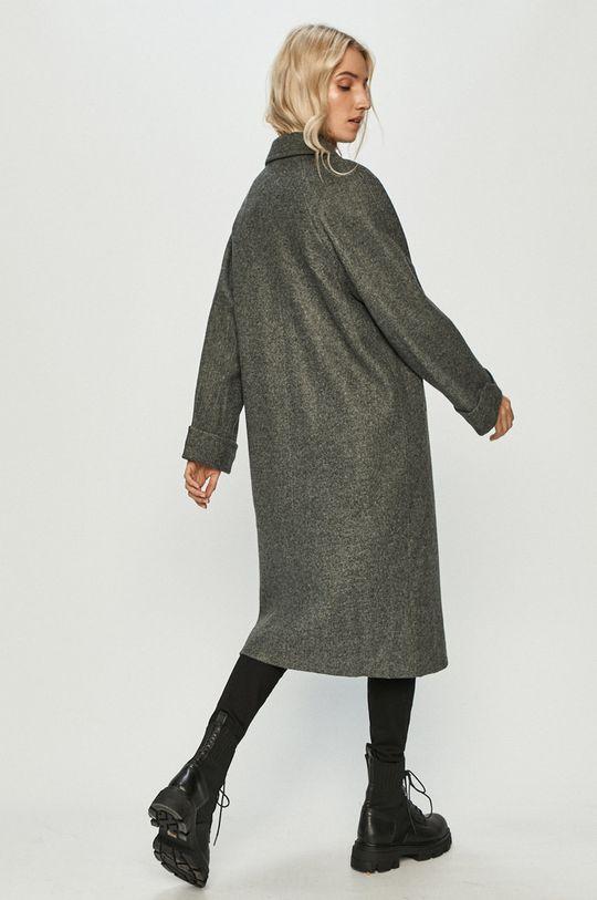 Answear Lab - Kabát s vlněnou směsí s vlněnou směsí s vlněnou směsí s vlněnou směsí  45% Polyester, 10% Vlna, 45% Viskóza