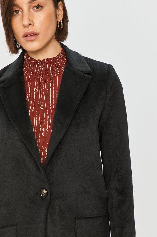 černá Answear Lab – Kabát s vlněnou směsí
