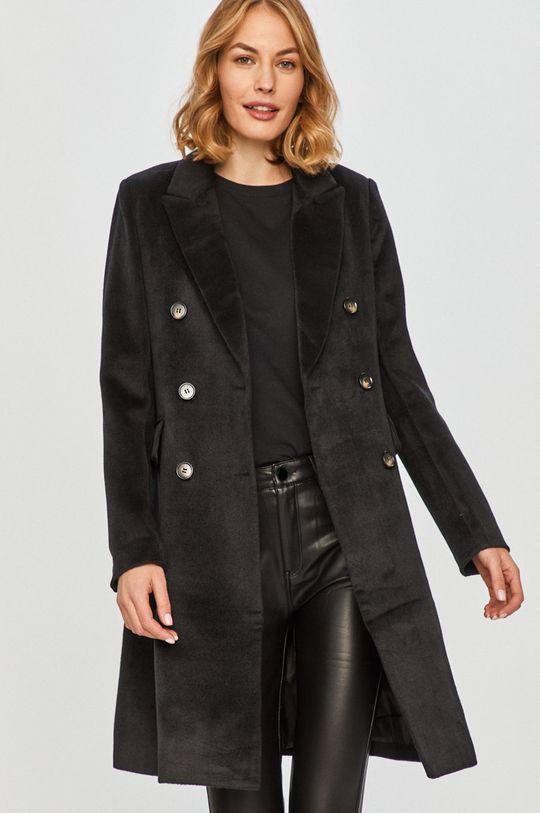 čierna Answear Lab - Kabát Dámsky