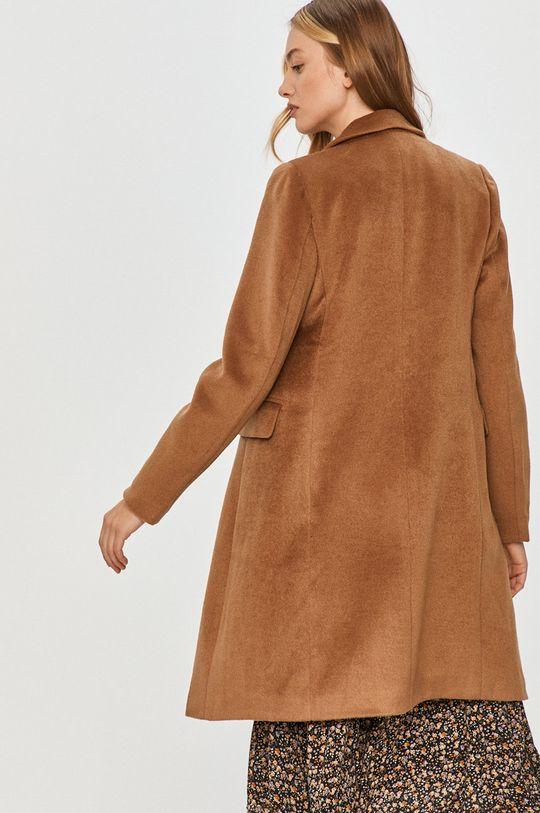 Answear Lab - Płaszcz z domieszką wełny 75 % Poliester, 25 % Wełna