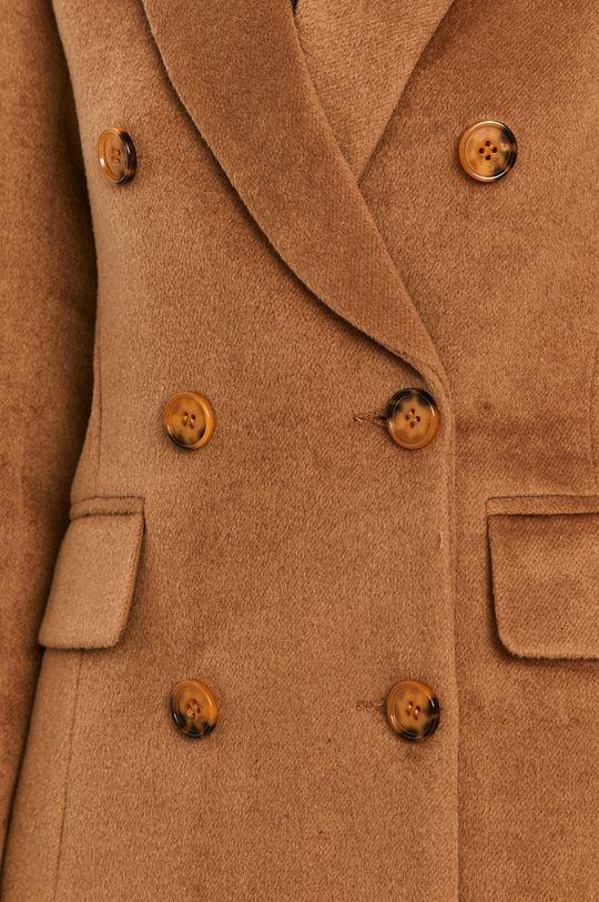Answear Lab - Płaszcz z domieszką wełny Damski