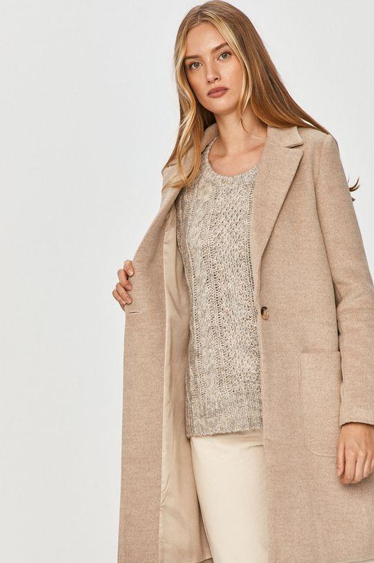 Answear Lab - Kabát s vlněnou směsí s vlněnou směsí s vlněnou směsí s vlněnou směsí