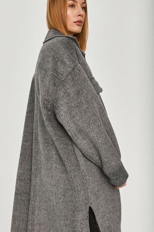 Answear Lab - Płaszcz z domieszką wełny 40 % Akryl, 50 % Poliester, 10 % Wełna