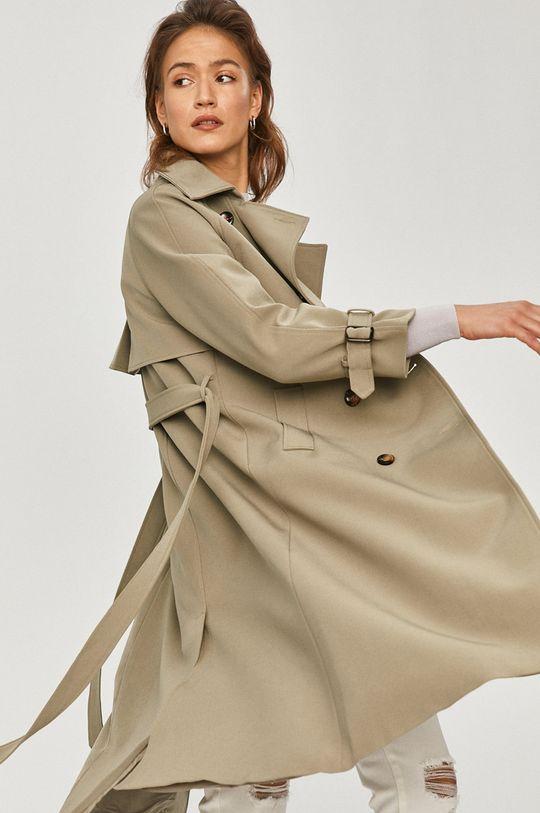zelená Answear Lab - Trench kabát Dámský