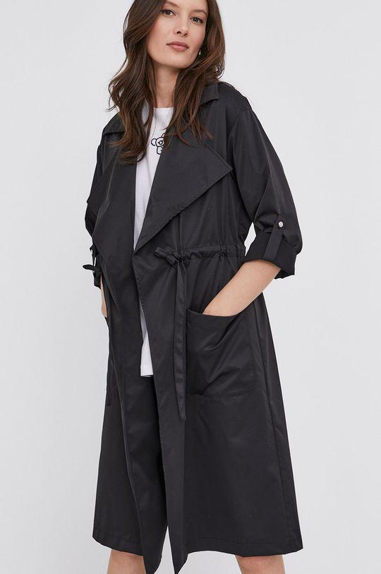černá Answear Lab - Kabát Dámský