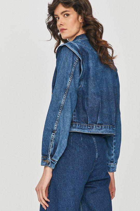 albastru Answear Lab - Geaca jeans