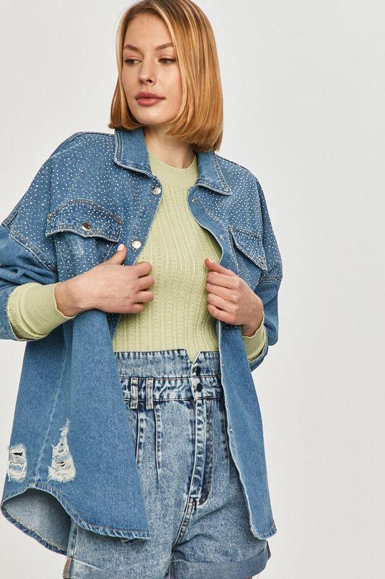 niebieski Answear Lab - Koszula jeansowa Damski