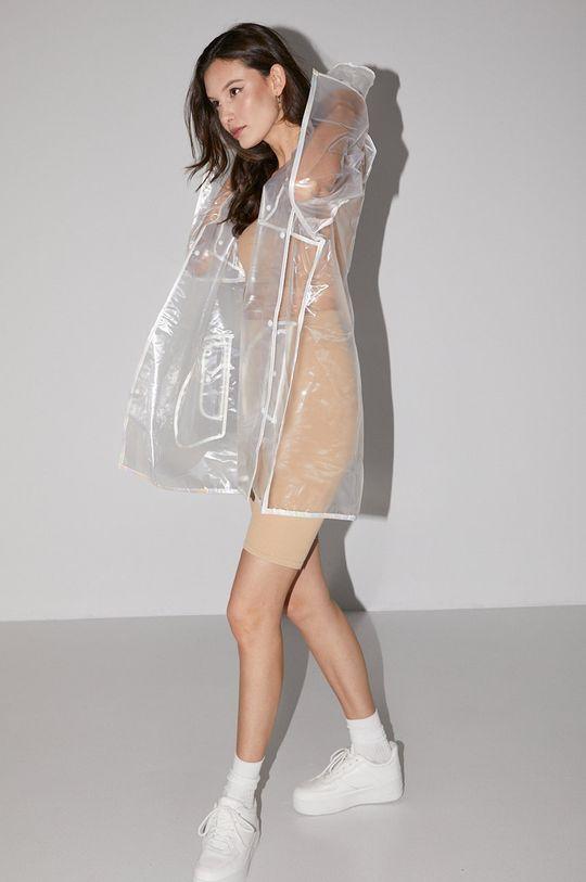 Answear Lab - Kurtka przeciwdeszczowa transparentny
