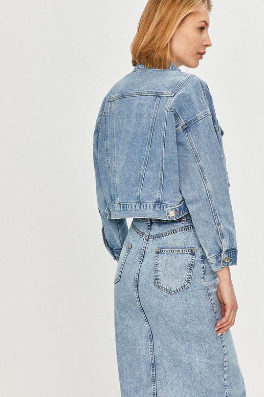Answear Lab - Kurtka jeansowa 80 % Bawełna, 9 % Poliester, 11 % Wiskoza
