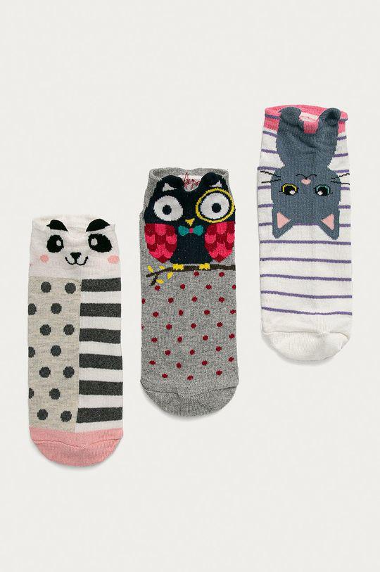 viacfarebná Answear Lab - Ponožky (3-pak) Dámsky