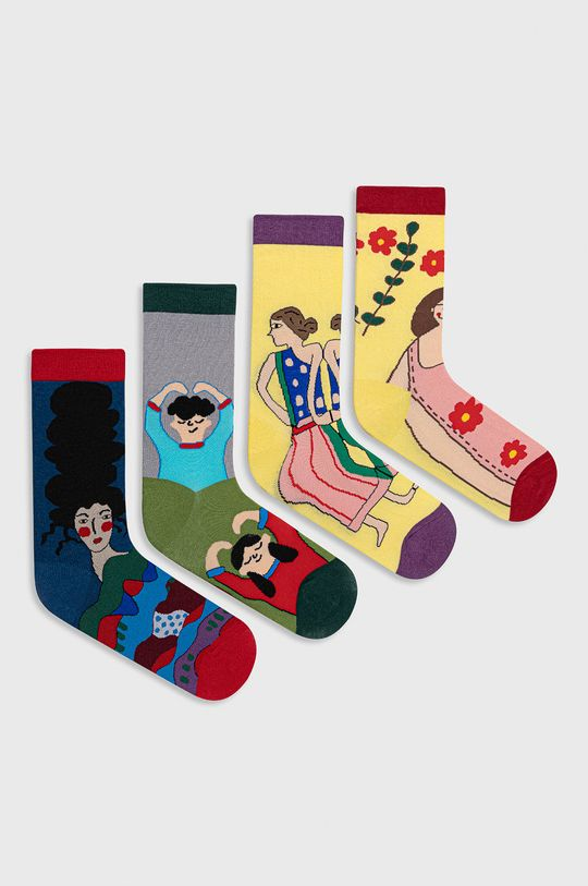 viacfarebná Answear Lab - Ponožky (4-pak) Dámsky