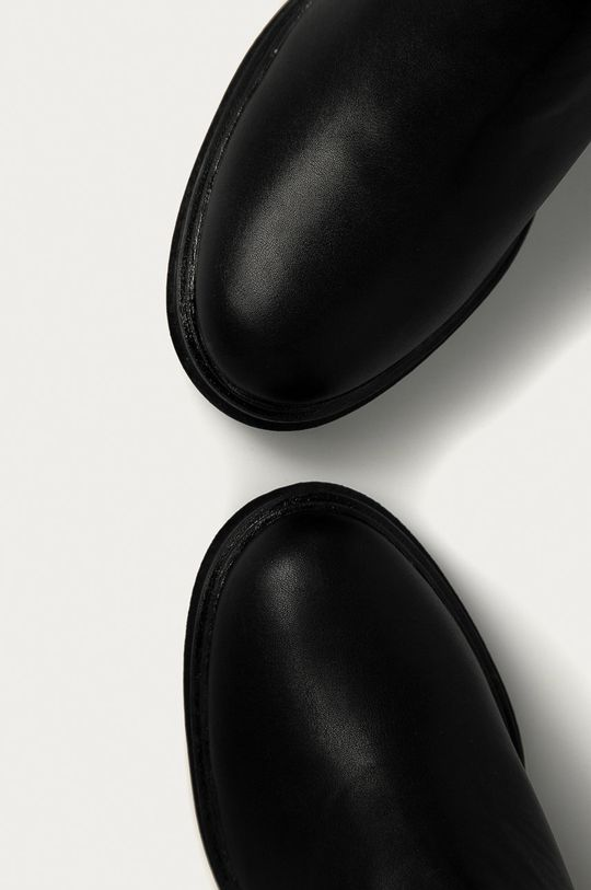 černá Answear Lab - Nízké kozačky Bellucci