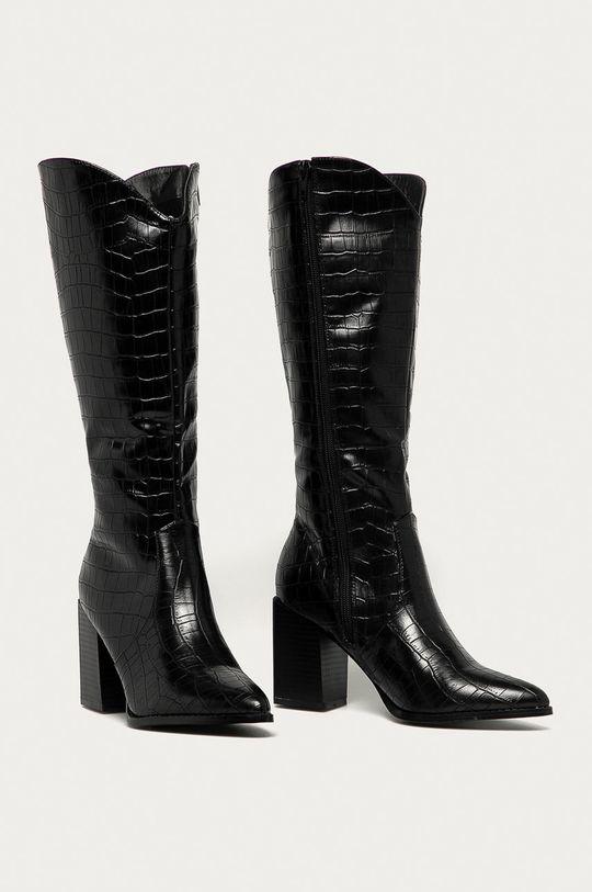 Answear Lab - Westernové boty Bellucci černá