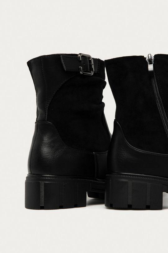Answear Lab - Členkové topánky  Zvršok: Syntetická látka Vnútro: Textil Podrážka: Syntetická látka