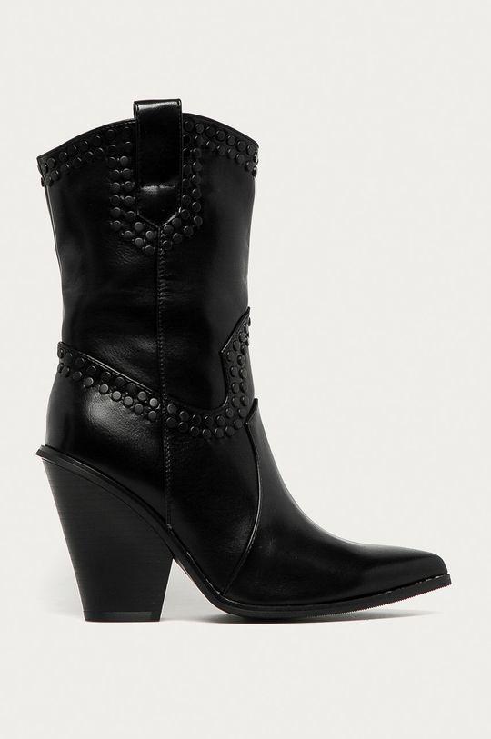 černá Answear Lab - Westernové boty Poti Pati Dámský