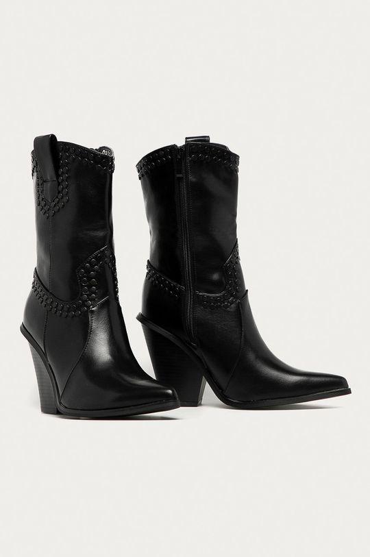 Answear Lab - Westernové boty Poti Pati černá