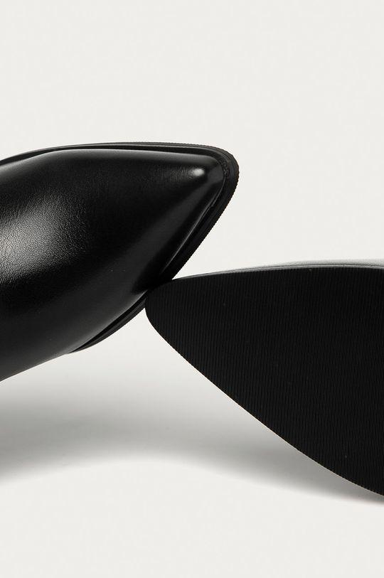 černá Answear Lab - Westernové boty Poti Pati