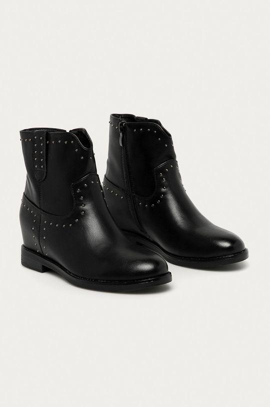 Answear Lab - Členkové topánky Girlhood čierna