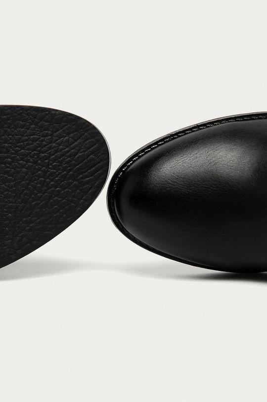 čierna Answear Lab - Členkové topánky Girlhood