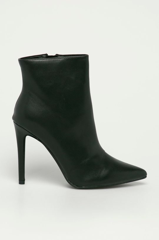 čierna Answear Lab - Členkové topánky Second Lady Dámsky