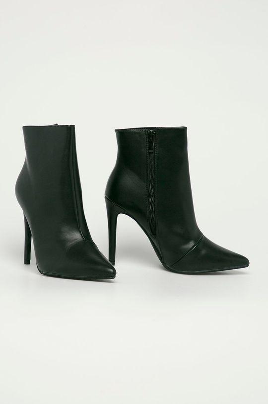 Answear Lab - Členkové topánky Second Lady čierna