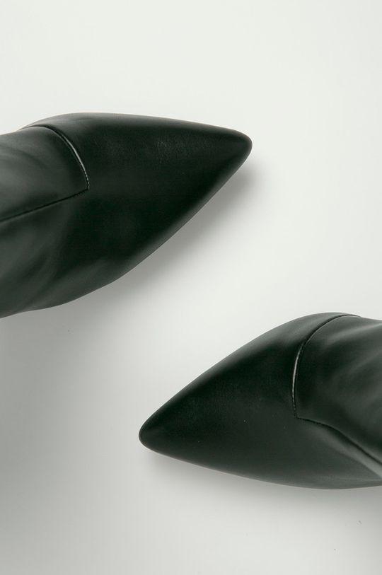 čierna Answear Lab - Členkové topánky Second Lady