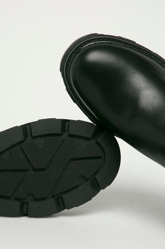 černá Answear Lab - Boty s gumou Alta Moda