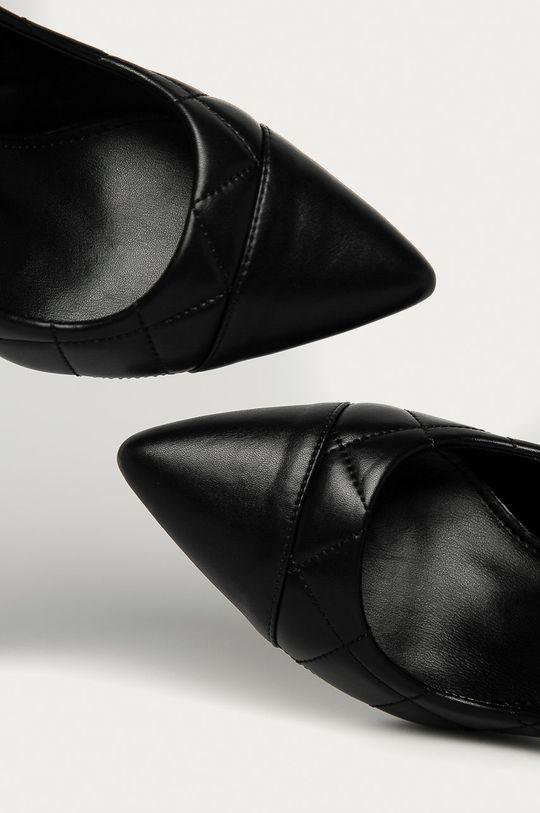 černá Answear Lab - Lodičky Buonarotti