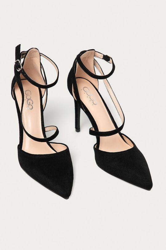 Answear Lab - Pantofi cu toc negru