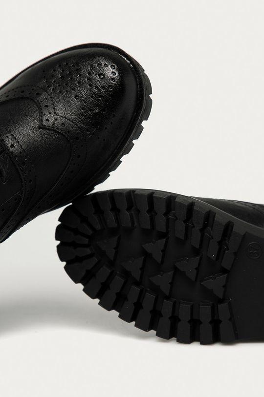 černá Answear Lab - Polobotky Martin Pescatore