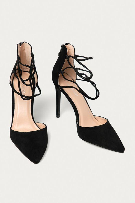 Answear Lab - Sandále Sweet Shoes čierna