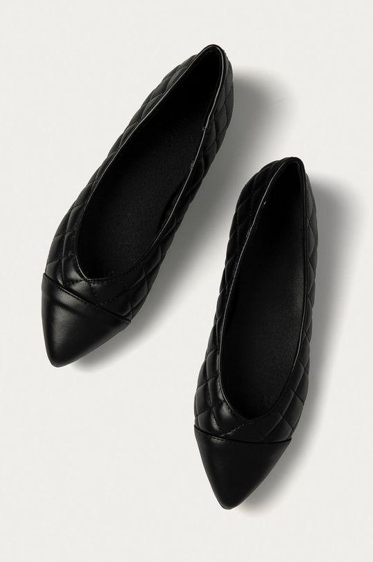 čierna Answear Lab - Baleríny