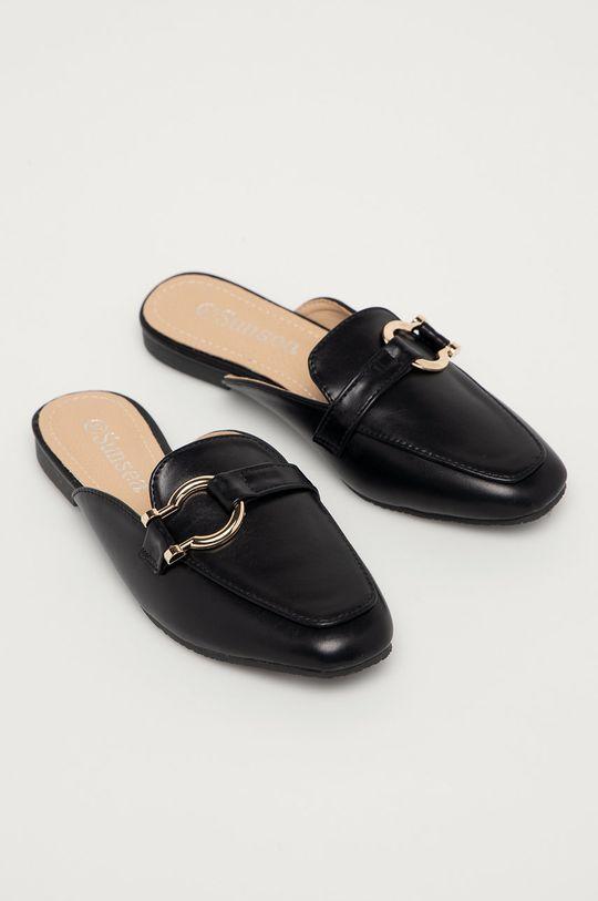 Answear Lab - Papuci negru