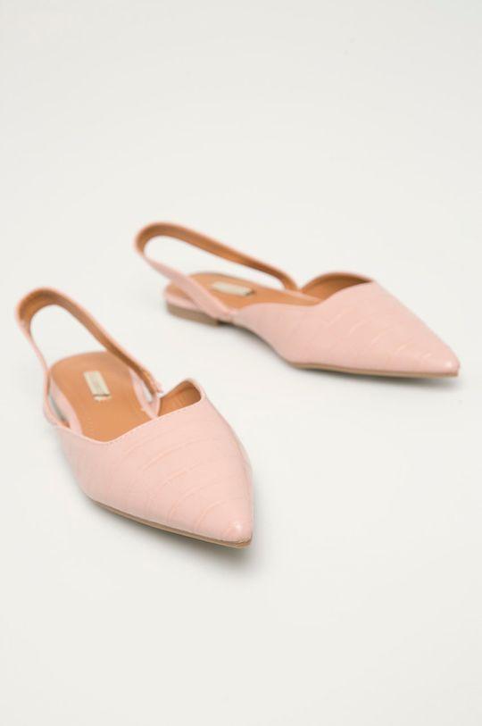 Answear Lab - Baleriny Buonarotti różowy