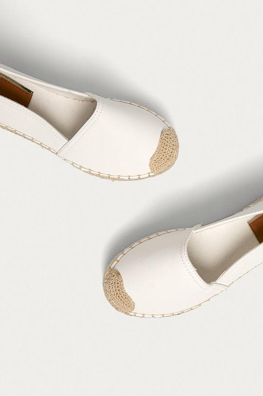 biały Answear Lab - Espadryle Buonarotti