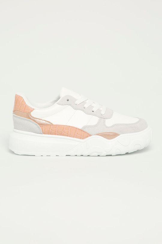biela Answear Lab - Topánky IdeaShoes Dámsky