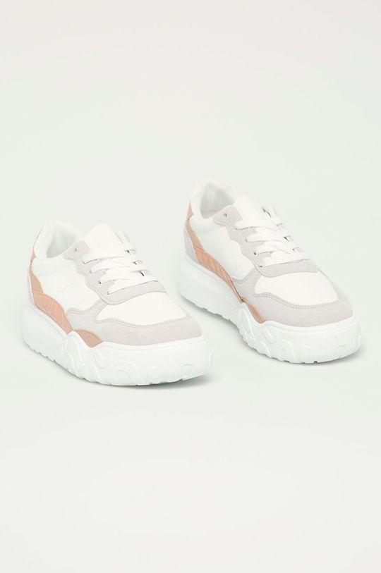 Answear Lab - Topánky IdeaShoes biela