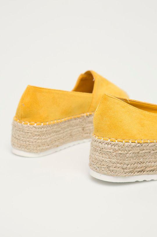 Answear Lab - Espadrilky IdeaShoes  Svršek: Umělá hmota Vnitřek: Textilní materiál Podrážka: Umělá hmota