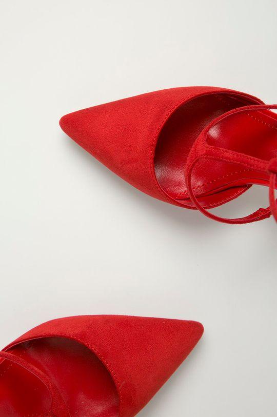 czerwony Answear Lab - Szpilki Colour Cherie