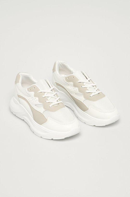Answear Lab - Topánky biela