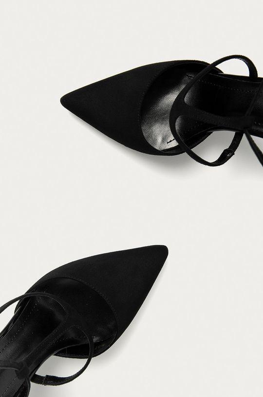 čierna Answear Lab - Lodičky Colour Cherie