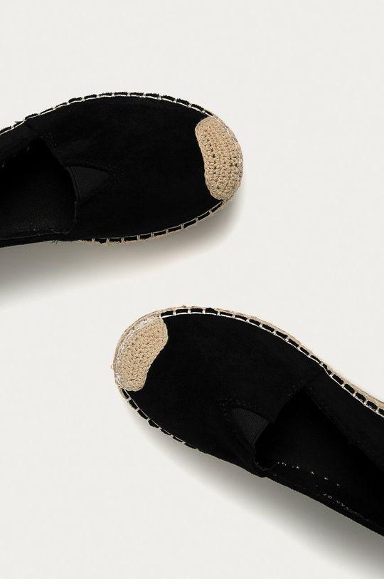 čierna Answear Lab - Espadrilky WK